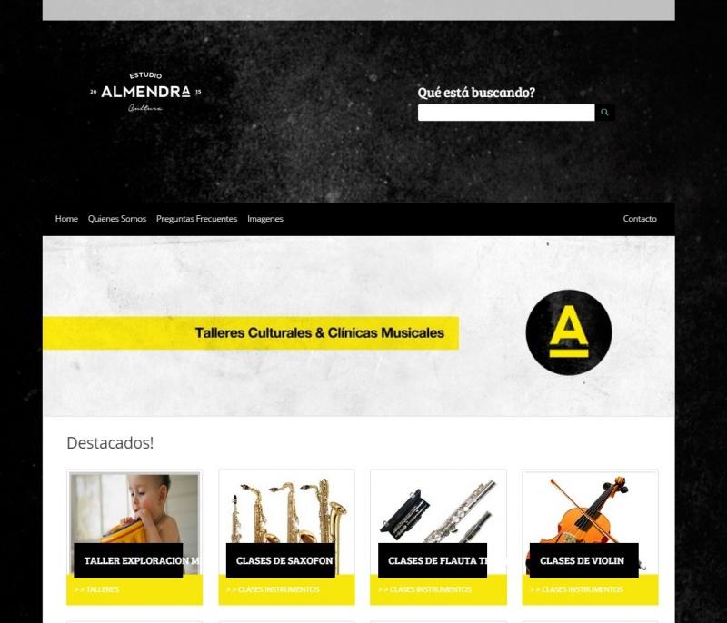 DISENO WEB CULTURA ALMENDRA, Queres formar parte de nuestro equipo?, Rio Cuarto