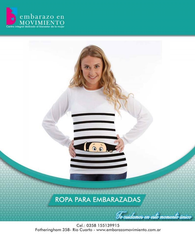 ROPA PARA FUTURAS MAMÁS, Embarazo en Movimiento, Rio Cuarto