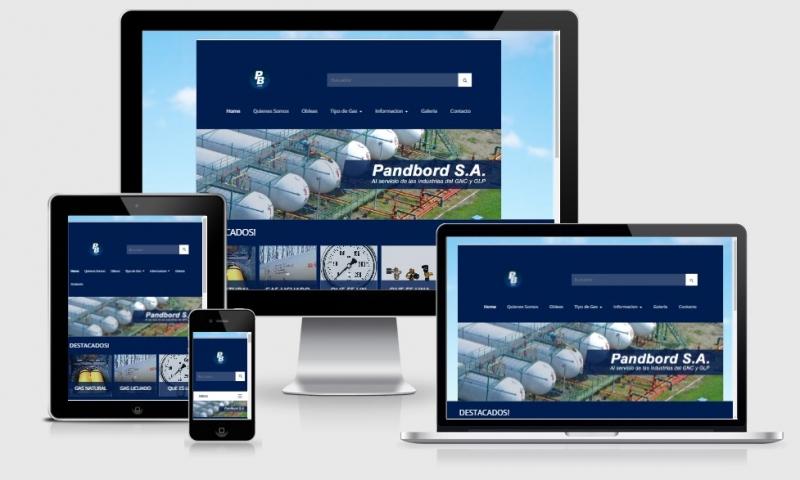 SITIO WEB PANDBORD GAS, Infosistemas, rio cuarto