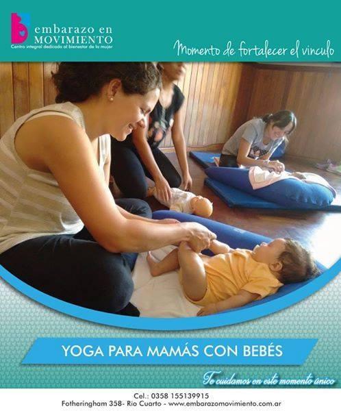 YOGA CON MAMáS Y BEBES, Embarazo en Movimiento, Rio Cuarto