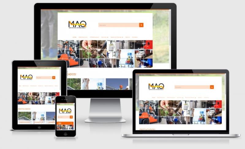 SITIO WEB MAQ SERVICIOS INTEGRALES, Infosistemas, rio cuarto
