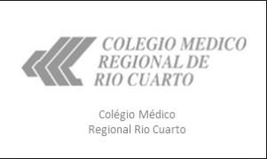 COLEGIO MEDICO REGIONAL RIO CUARTO, GLOBAL PACK SRL, rio cuarto